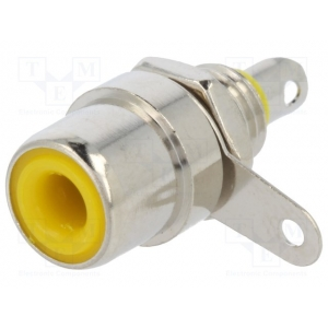 RCA pesa paneelile, kollane, metall, nikkel, isoleeritud, KEYSTONE