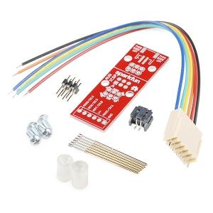 AVR ISP programmaatori adapter vedrukontaktidega