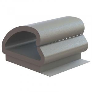 Kaablifiksaator ø 6,4mm, liimitav 12,7mm, x 12,7mm, 50tk/pakk