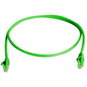 Võrgukaabel Cat6a S/FTP 0.5m roheline LSZH