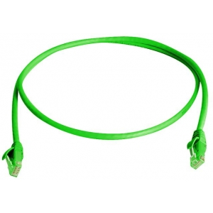 Võrgukaabel Cat6a S/FTP 0.25m roheline LSZH