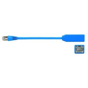Võrgu pikenduskaabel Cat7 S/FTP 0.2m, sinine, LSZH