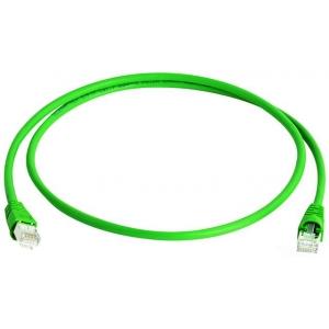 Võrgukaabel Cat6a S/FTP 15.0m roheline LSZH