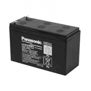 Pliiaku 12V 7,2 AH Panasonic LC-R127R2PG1 lai klemm*