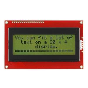 LCD maartiksdisplei 20x4, must kiri, roheline taust, 5V