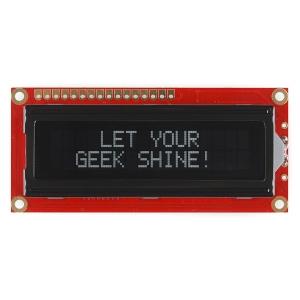 LCD maartiksdisplei 16x2, valge kiri, must taust, 5V