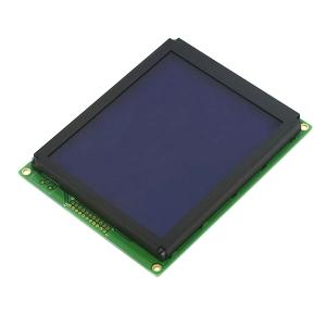 LCD 128x160 graafiline displei, valge tekst, sinine taust