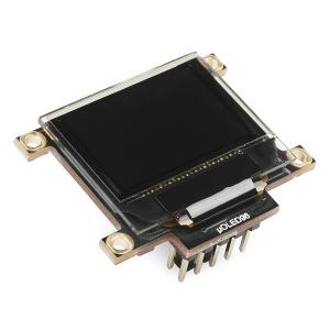 OLED RGB displei 0.96´´ 96x64, MicroSD kaardi lugejaga, uOLED-96-G2