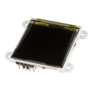 OLED RGB displei 1.5´´ 128x128, MicroSD kaardi lugejaga, μOLED-128-G2