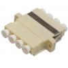 FO adapter multimode LC quad beez