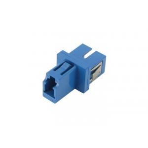 FO adapter LC-SC simplex sinine