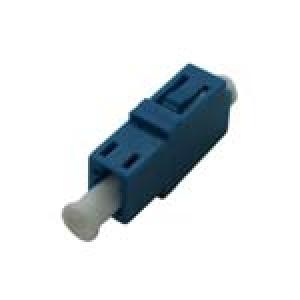 FO adapter singlemode LC simplex sinine