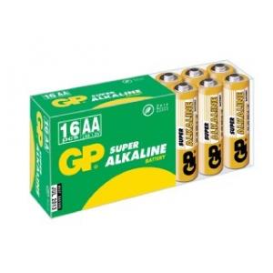 Patarei AA 1,5V 16 tk LR6 Alkaline