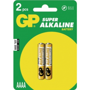 Patarei AAAA Super 1,5V Alkaline 1pk=2tk