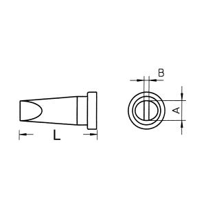 Kolviots LT-D lapik 4,6x0,8mm WP80,WSP80,FE75