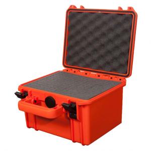 Transpordikast 258x243xH167.5 mm veekindel, oranž, vahuga