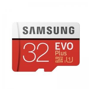 Mälukaart 32GB micro SD EVO Plus Class10, SAMSUNG