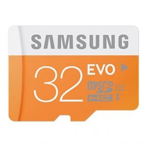 Mälukaart SAMSUNG MicroSD EVO 32GB Class10 48MB/s
