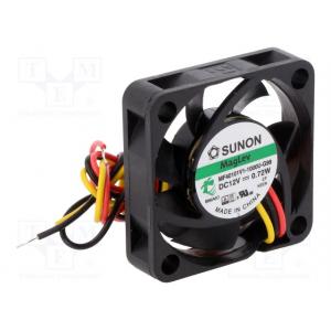 SUNON MF40101V1-1000U-G99 Ventilaator 12VDC 40x40x10mm 13.52m3/h 27.3dBA Vapo 1.08W