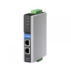 Modbus Serial to Ethernet Gateway, 1 port,  2 x 12-48 VDC toide, -40 kuni 75°C