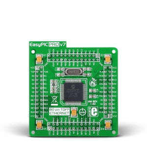 EasyPIC PRO v7 ETH - PIC18F87J60 mikrokontrolleri moodul