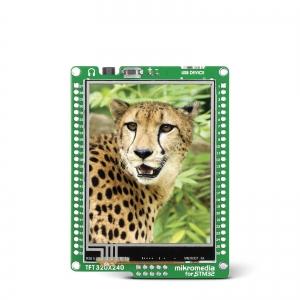 mikromedia 2.8´´ nutikas displei STM32F207 mikrokontrolleriga
