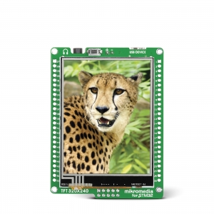 mikromedia 2.8´´ nutikas displei STM32F407 mikrokontrolleriga