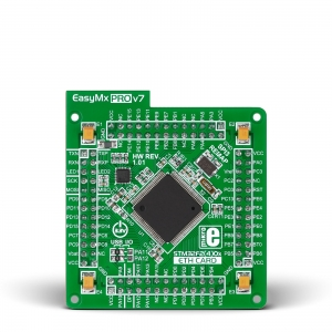 EasyMx PRO v7 ETH - STM32F207VGT6 mikrokontrolleri moodul