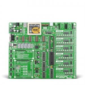 EasyPIC v7 arendusplatvorm 16-bit dsPIC/PIC24 mikrokontrolleritele