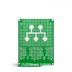 mikroBUS Shield adapterplaat mikromedia 2.8´´ displeile