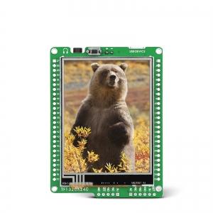mikromedia 2.8´´ nutikas displei dsPIC33EP mikrokontrolleriga