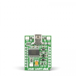 USB UART click - FT232RL jadaliidese adapter