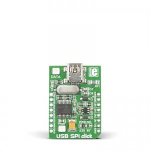 USB SPI click - MCP2210 SPI jadaliidese adapter