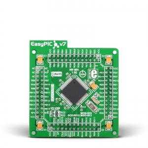 EasyPIC FUSION v7 - dsPIC33EP512MU810 mikrokontrolleri moodul