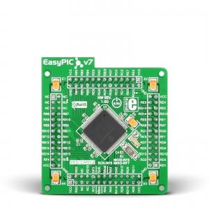 EasyPIC FUSION v7 - dsPIC33FJ256GP710A mikrokontrolleri moodul