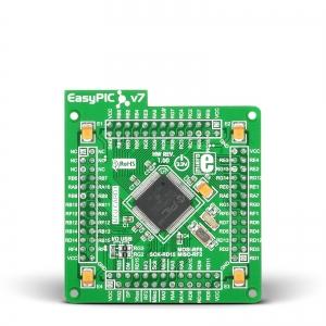 EasyPIC FUSION v7 - PIC32MX460F512L mikrokontrolleri moodul