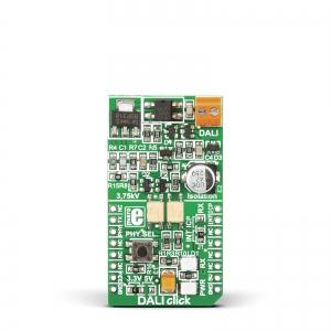 DALI Click - valgustuse juhtimise adapter