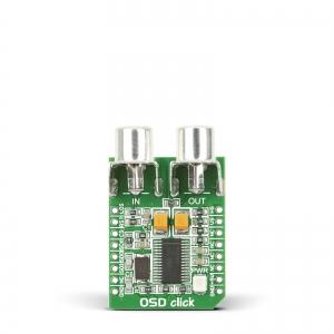 OSD click - MAX7456 ekraanikuva moodul