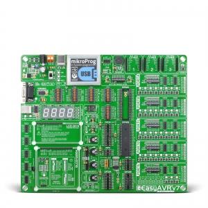 EasyAVR v7 arendusplatvorm 8-bit AVR mikrokontrolleritele
