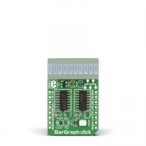 BarGraph click - LED tulpindikaator, 10 segmenti, punane
