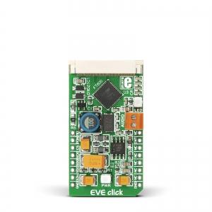 EVE Click - FT800Q TFT displei kontroller