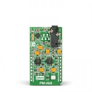 FM click - Si4703 FM 76-108MHz vastuvõtja moodul