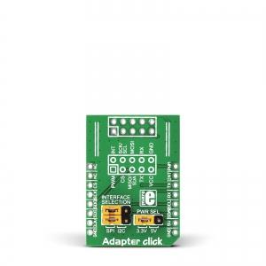 Adapter click - IDC10/mikroBUS adapter