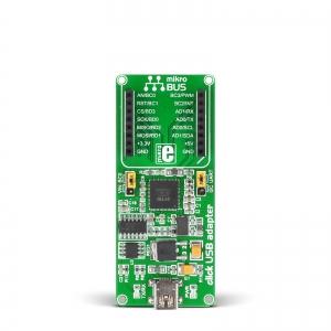 click USB adapter - mikroBUS click moodulite adapter