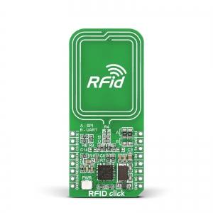 RFid click - CR95HF 13.56MHz RFid moodul
