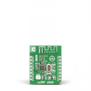 ccRF click - CC2500  2.4GHz transiiveri moodul