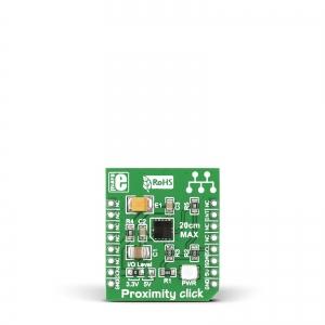 Proximity click - VCNL4010 optiline kaugus ja valgusanduri moodul