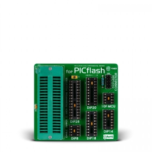 PICFlash adapterplaat PIC programmaatorile