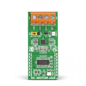 DC MOTOR click - DRV8833 mootoridraiveri moodul