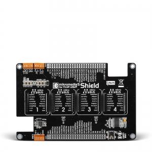 mikroBUS Shield adapterplaat mikromedia 5´´ Tiva™ displeile